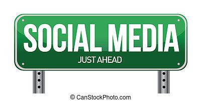 Die Straßenbeschreibung der sozialen Medien