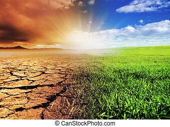Die Umwelt verändern