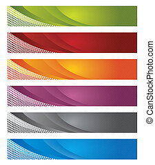 Digitale Transparente in Gradient & Lines