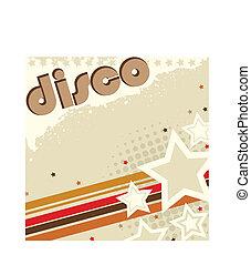 Disco Retro Hintergrund