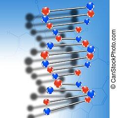 DNA-Molekül.