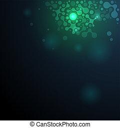 DNA-Molekül-Illustration