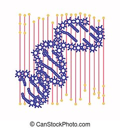 DNA-Zelle entfernen.
