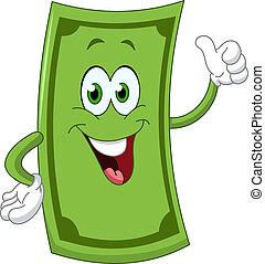 dollar, karikatur