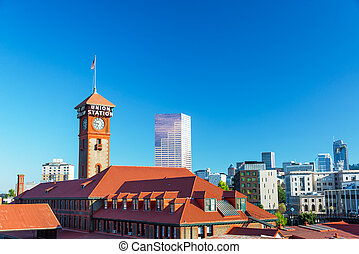 Downtown Portland, Erzgon.