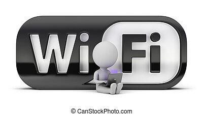 Drei kleine Leute - Wifi