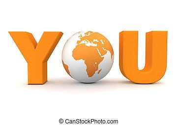 Du Welt orange