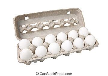 Dutzende Eier