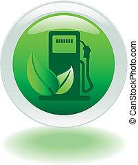 eco, pumpe, gas, taste