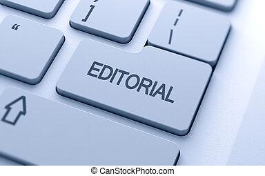 Editorialer Knopf