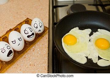 eier, kochen
