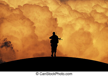 Ein Bild des Krieges