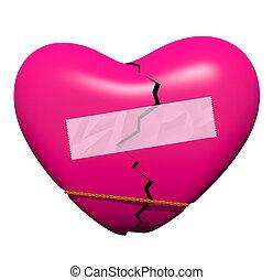 Ein gebrochenes Herz heilen