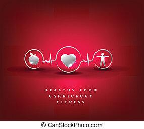 Ein Gesundheitssymbol