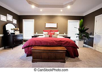 Ein großes Schlafzimmer