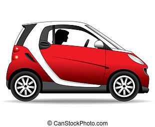 Ein kleines Auto