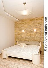 Ein modernes Schlafzimmer