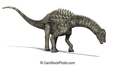 Ein Rumpelosaurus schaut