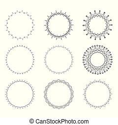 Ein runder Rahmen