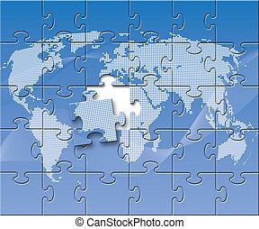 Ein verwirrter Globus