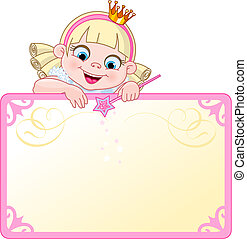 Eine Einladung oder eine Postkarte