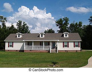 Eine Geschichte, Ranch-Wohnheim