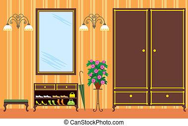Eingangshalle in Wohnung
