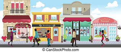 Einkaufsleute