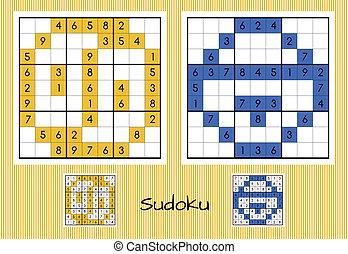 Einzigartiges Sudoku Set.
