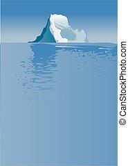 Eisberg.