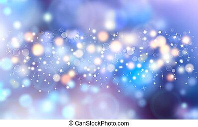 Eleganter, festlicher, blauer Hintergrund.