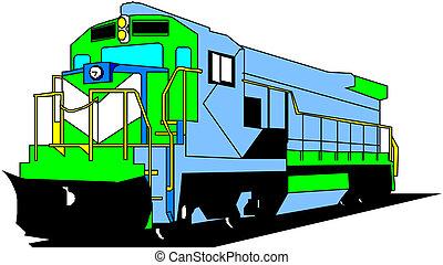 Elektrische Lokomotive