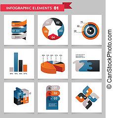 Elemente und Ikonen von Infographics