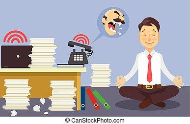 Entspann dich bei der Arbeit