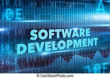 entwicklung, begriff, software