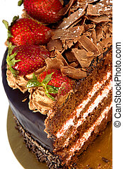 Erdbeer-Dessert