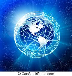 Erde und Kommunikation