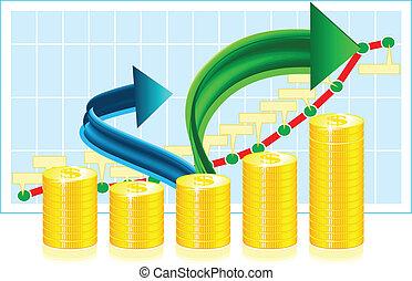 erfolg, begriff, finanziell