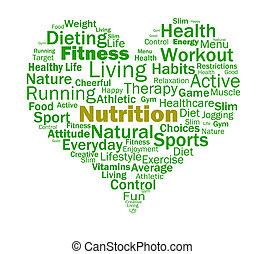 ernährung, herz, gesunde, nährstoffe, ernährungsmäßig, lebensmittel, shows
