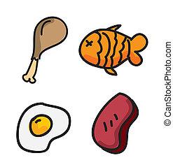 Ernährungs-Ikonen