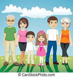 Erweiterte Familie