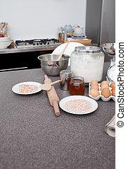 Essen in der Küche