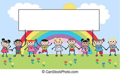 Ethnische gemischte Kinder