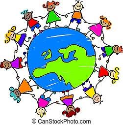 Europäische Kinder