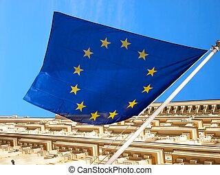 Europäische Unionsflagge