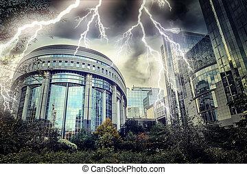 Europäisches Parlament. Brüssel, Belgien