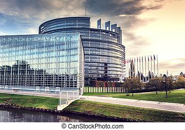 Europäisches Parlament. Straßburg, Frankreich