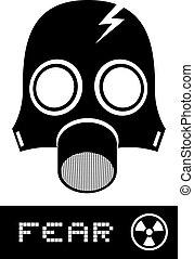 fürchten, maske