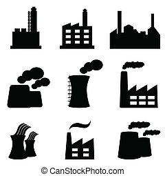 Fabriken und Kraftwerke