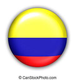 fahne, kolumbien